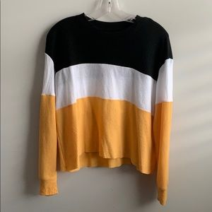 Hollister Colorblocked Top